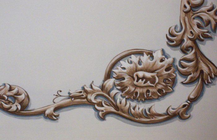 alt = decorazione pareti vignola